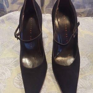 Black Martinez Valero Heels